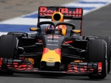 Red Bull runs halo at Silverstone test