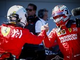 "Leclerc ""happy"" to keep Vettel as 2021 Ferrari team-mate"
