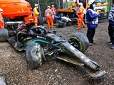 Large parts of Bottas' car damaged 'beyond repair'