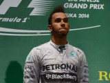Hamilton subdued after victory