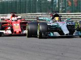 Ferrari's pace at Spa makes Lewis Hamilton cautious