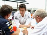 Wolff: Marko seeing 'ghosts' in tyre conspiracy
