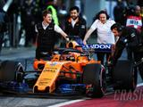 McLaren hits early trouble as F1 testing resumes