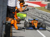 Norris critical of stewards decisions