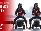 Video: Coolbox Racing with Red Bull's Max & Alex