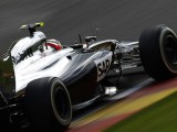 Magnussen demoted to 12th by Belgian stewards