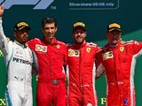 Sebastian Vettel: Silly to suggest Kimi Raikkonen hit Lewis Hamilton on purpose