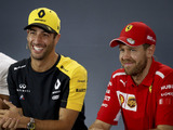 No 2018 car tests for Ricciardo or Vettel