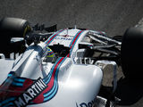 Williams completed extensive work at the Hungaroring