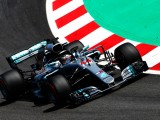 Mercedes controls final practice at Barcelona