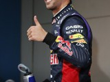 Ricciardo downplays beating Vettel
