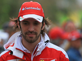 Jean-Eric Vergne drives 2014 Ferrari at Foirant in 2017 Pirelli tyre test