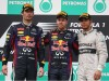 Vettel apologises to Webber after ignoring team orders
