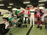 Castrol and Honda celebrate collaboration at Barcelona