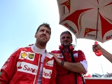 Vettel denies rift with Ferrari boss Arrivabene
