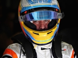 Alonso P7 in Indianapolis qualifying