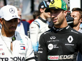Ricciardo reveals what he '100%' respects about Hamilton
