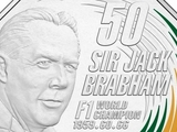 Brabham honoured with Australian coin