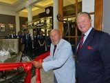 Sir Stirling Moss honoured with 'Stirling's' restaurant