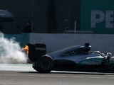 Merc identify cause of Hamilton engine failure