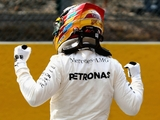 Hamilton has a dig at 'blind' Vettel fan