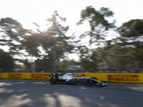 Australian Grand Prix qualifying: Lewis Hamilton leads Mercedes 1-2