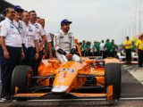 Alonso qualifies 7th as Bourdais crashes.