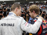 For Vettel, Schumacher remains the best