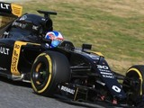 "Jolyon Palmer: ""The car feels good and forgiving"""