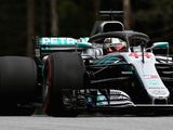 FP1: Hamilton on top in his upgraded W09