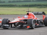 Ellinas completes Marussia debut during test