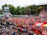 Monza results decided by tyre strategy