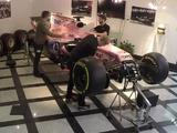 Video: Timelapse of VJM10 build in Force India reception