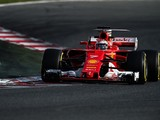 F1 testing: Ferrari's Raikkonen fastest after final day's wet start