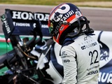 Tsunoda apologises for 'silly mistake' during Imola qualifying