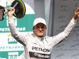 Rosberg keeps Hamilton behind to take Brazil victory