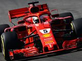 Sebastian Vettel: Halo mounted mirror offers better visibility