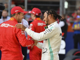 Vettel happy for Hamilton success: 'No envy'