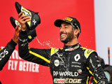 Ricciardo 'was smiling' when Perez pitted from third