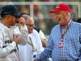 Hamilton delighted after Lauda's hospital release