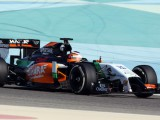 Hulkenberg goes quickest in Bahrain on day one