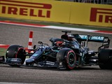 Russell quickest in first F1 session with Mercedes