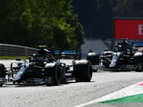 Bottas wins season-opening thriller from penalty-hit Hamilton in Austria