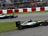 Nico Rosberg was frustrated with Lewis Hamilton's Turn 1 move
