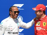 Lewis Hamilton Not Disappointed To Lose Out On Pole Position To Sebastian Vettel