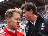 Mercedes 'cannot ignore' Vettel's Ferrari departure admits Wolff