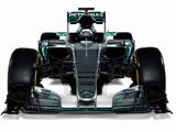 Mercedes releases images of new W07 F1 car
