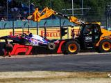 Brendon Hartley to miss F1 qualifying after heavy practice accident
