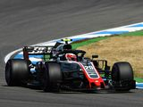 Haas secure best-ever qualifying for German GP