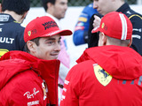 Leclerc was 'intimidated at first' by Vettel